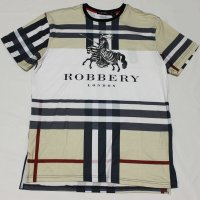 HUDSON OUTERWEAR(ハドソン・アウターウェア)ROBBERY Tシャツ(ベージュ)