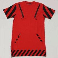 FOCUS(フォーカス) HAZARD ZIP S/S ロングTシャツ(RED)