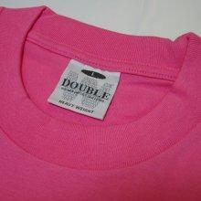 他のアングル写真1: DOUBLE 無地 Tシャツ (全12色)