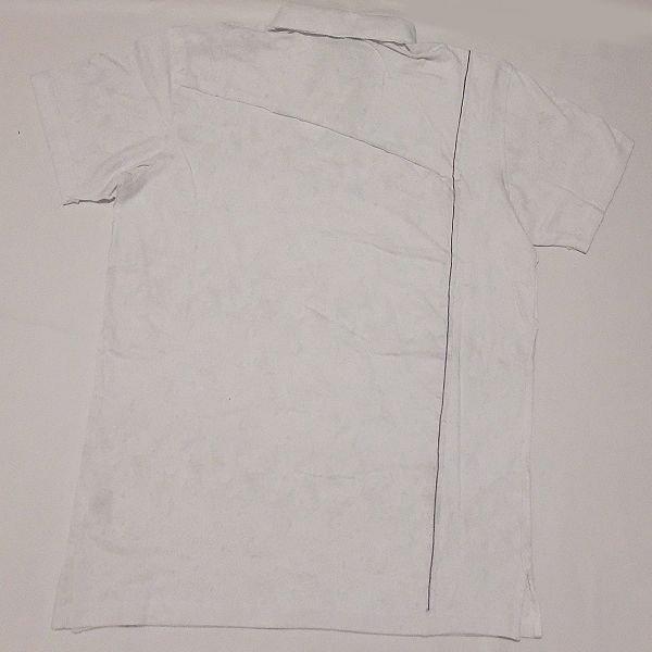 画像4: PELLE PELLE コントラストカットアップスクリプトポロシャツ(ホワイト)512DK1