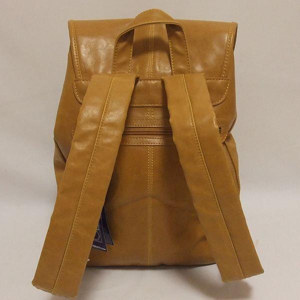 画像4: FYDELITY(フィデリティー) OLD SCHOOL ステレオバックパック(タン-Faux Leather)