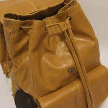 他のアングル写真1: FYDELITY(フィデリティー) OLD SCHOOL ステレオバックパック(タン-Faux Leather)
