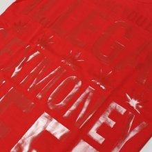 他のアングル写真3: SEX MONEY WEED(セックス・マネー・ウィード)レターTシャツ(レッド)