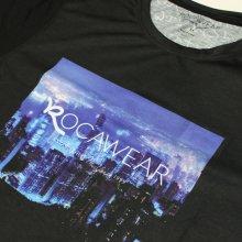 他のアングル写真1: ROCAWEAR EUROLINE(ロカウェアユーロライン)TOKYO ROCATシャツ(ブラック)