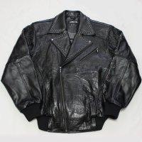 【セール20%OFF 送料無料】PELLE PELLE(ペレペレ)レザーライダーズジャケット(BLACK)21523