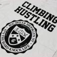画像4: ROCAWEAR(ロカウェア)CLIMBING HUSTLINGバックプリント Tシャツ(WHITE) (4)