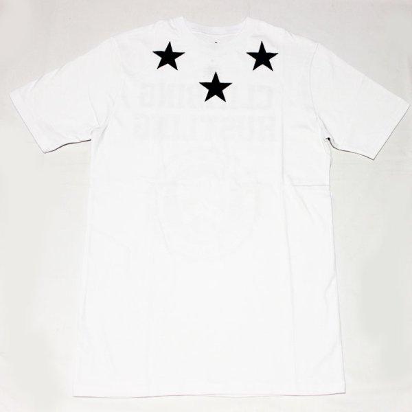 画像1: ROCAWEAR(ロカウェア)CLIMBING HUSTLINGバックプリント Tシャツ(WHITE)