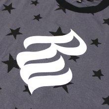 他のアングル写真2: ROCAWEAR(ロカウェア)STAR & LOGO Tシャツ(チャコール)