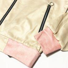他のアングル写真2: VIE RICHE(ヴィリッシュ)サテンクレストジャケット(SAND)