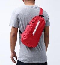 BLACK PYRAMID(ブラックピラミッド)Tear Drop Cross Body Bag (Y7161915) RED