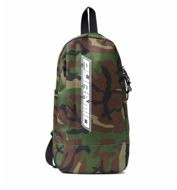画像2: BLACK PYRAMID(ブラックピラミッド)Tear Drop Cross Body Bag (Y7161915) CAMO