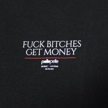 他のアングル写真1: PELLE PELLE(ペレペレ)GET MONEY Tシャツ (ブラック) PP3070