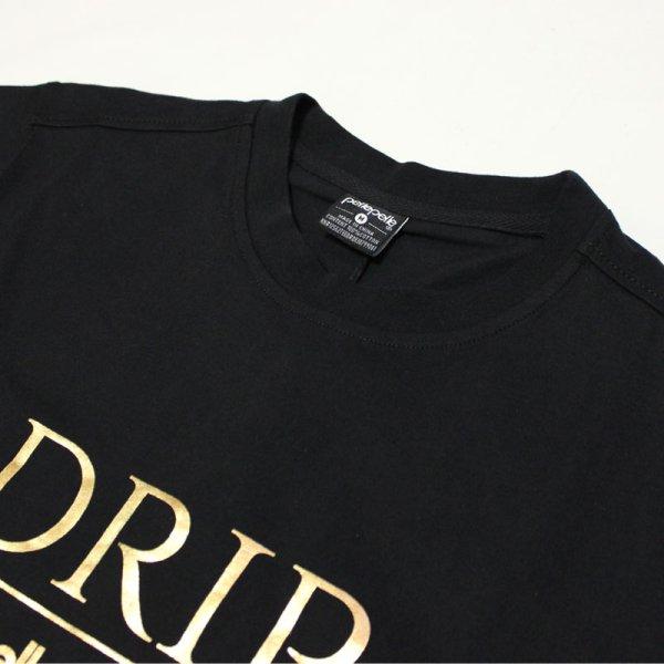 画像2: PELLE PELLE(ペレペレ)DRIP Tシャツ (ブラック) PP3055
