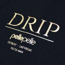 他のアングル写真1: PELLE PELLE(ペレペレ)DRIP Tシャツ (ブラック) PP3055