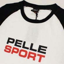 他のアングル写真1: PELLE PELLE(ペレペレ)VINTAGE SPORT Tシャツ (ホワイト) PP3012