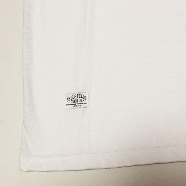 画像3: PELLE PELLE(ペレペレ)VINTAGE SPORT Tシャツ (ホワイト) PP3012