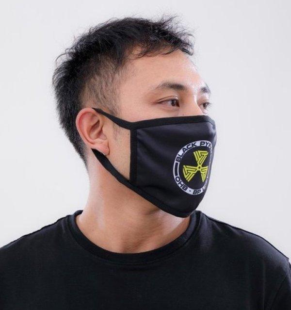 画像2: BLACK PYRAMID(ブラックピラミッド)Hazard Maze Face Mask Y7162574 (フェイスマスク)