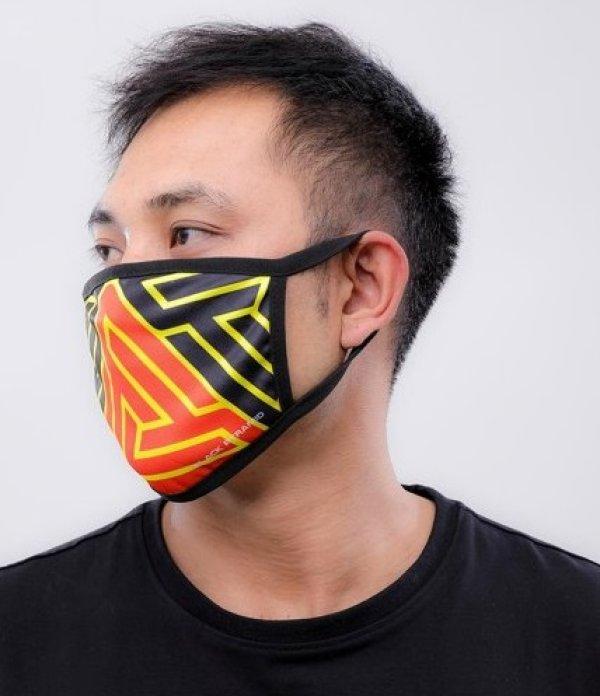 画像2: BLACK PYRAMID(ブラックピラミッド)Hidden Maze Face Mask (Y7162567) (フェイスマスク)