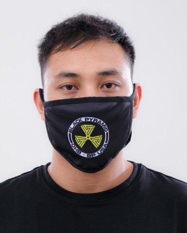 画像1: BLACK PYRAMID(ブラックピラミッド)Hazard Maze Face Mask Y7162574 (フェイスマスク)