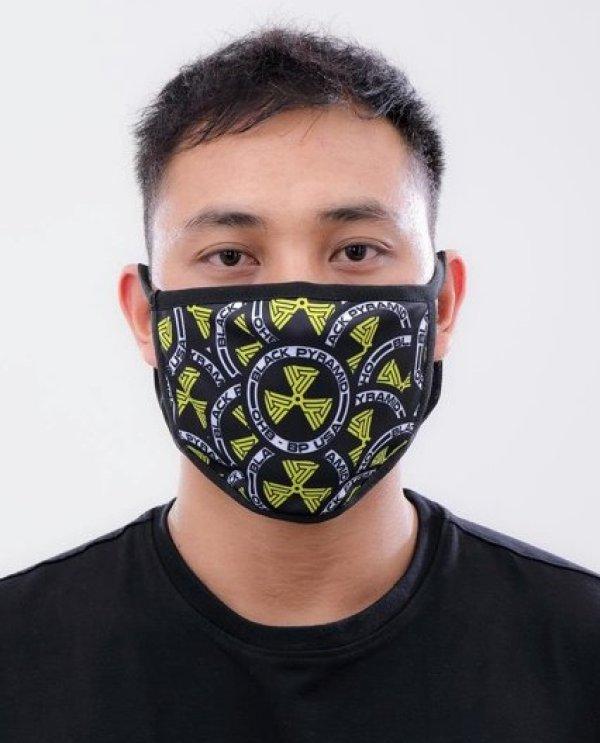 画像1: BLACK PYRAMID(ブラックピラミッド)Multi Hazard Maze Face Mask (Y7162575) (フェイスマスク)