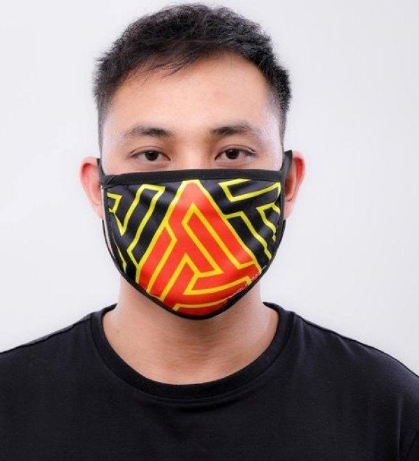 画像1: BLACK PYRAMID(ブラックピラミッド)Hidden Maze Face Mask (Y7162567) (フェイスマスク)