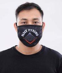 BLACK PYRAMID(ブラックピラミッド)Full Drip Face Mask black (Y7162570) (フェイスマスク)