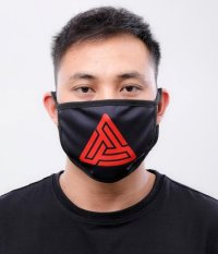 BLACK PYRAMID(ブラックピラミッド)Maze Logo Face Mask (Y7162566) (フェイスマスク)