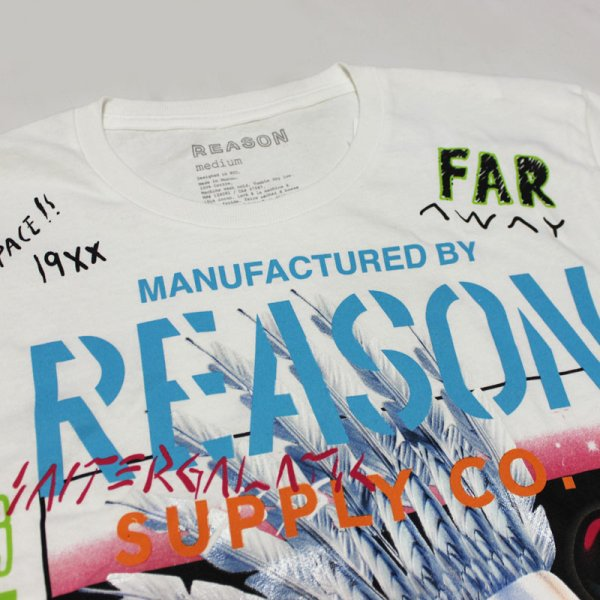 画像3: REASON(リーズン)CHEAF  L/S Tシャツ(WHITE)