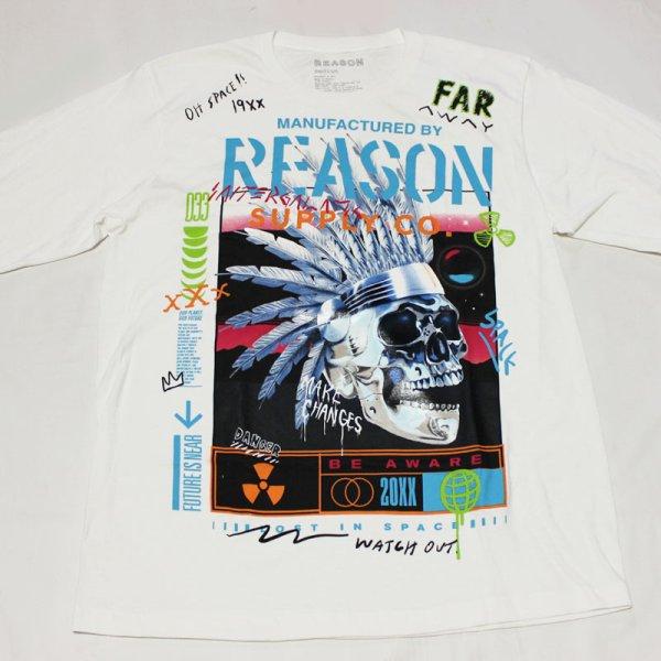 画像2: REASON(リーズン)CHEAF  L/S Tシャツ(WHITE)