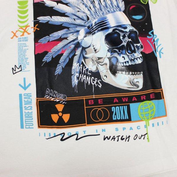 画像4: REASON(リーズン)CHEAF  L/S Tシャツ(WHITE)